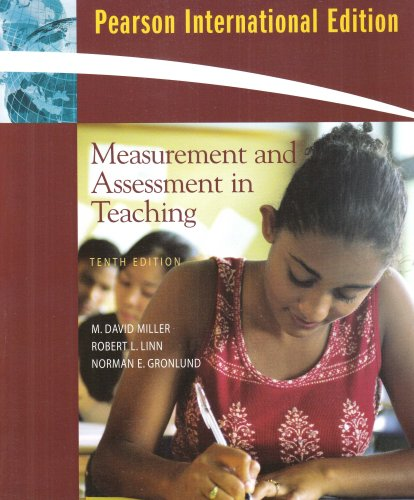 9780137126712: Measurement and Assessment in Teaching