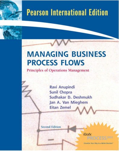 9780137128402: Managing Business Process Flows: Principles of Operations Management