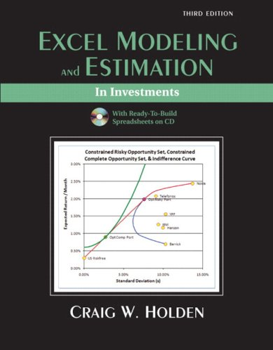 9780137129317: Excel Modeling and Estimation in Investments and Student CD Package