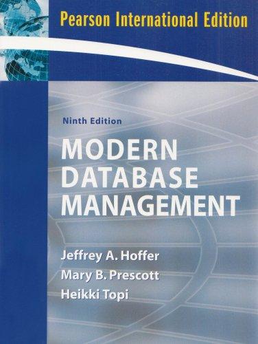 9780137130481: Modern Database Management: International Version