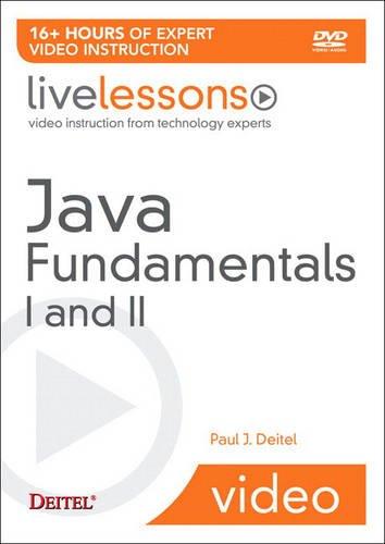 9780137131136: Java Fundamentals I and II LiveLesson (Video Training) (Pt. 1-2)