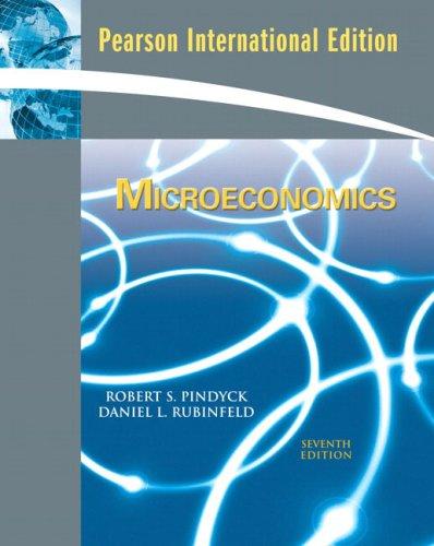 9780137133352: Microeconomics : international version