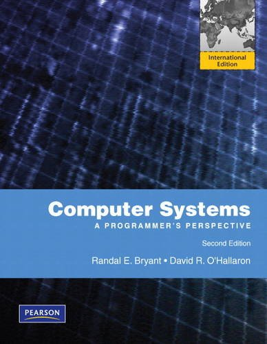 9780137133369: Computer Systems: International Version: A Programmer's Perspective