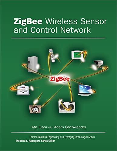 9780137134854: ZigBee Wireless Sensor and Control Network