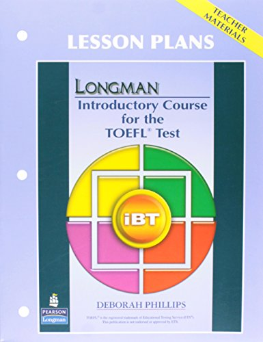 9780137135745: Longman Introductory Course for the TOEFL® Test: iBT: Lesson Plans