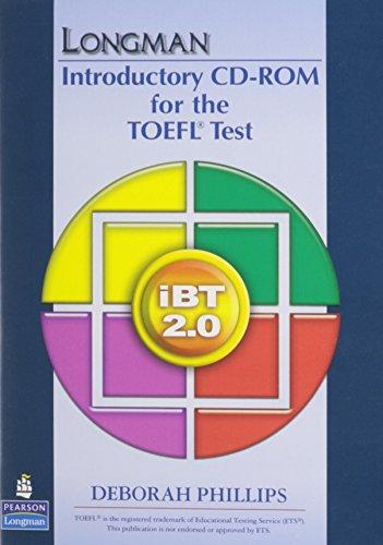 9780137135776: Longman Intro Course TOEFL Test: iBT Student CD-ROM