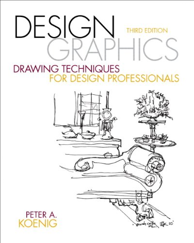 9780137136964: Design Graphics: Drawing Techniques for Design Professionals (3rd Edition) (Fashion Series)