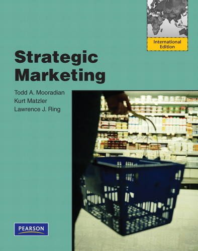 9780137136971: Strategic Marketing: International Edition
