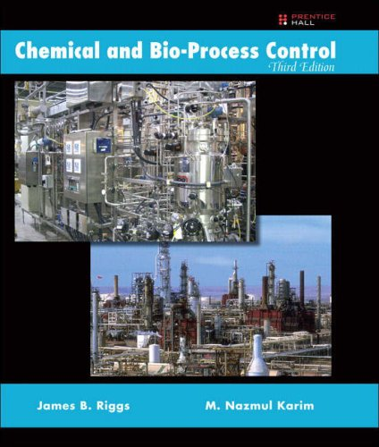 9780137137985: Chemical and Bio-Process Control:United States Edition