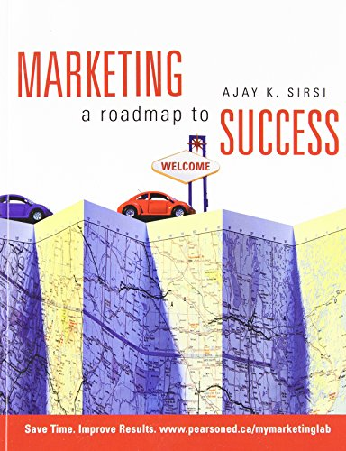 9780137138128: Marketing: A Roadmap to Success