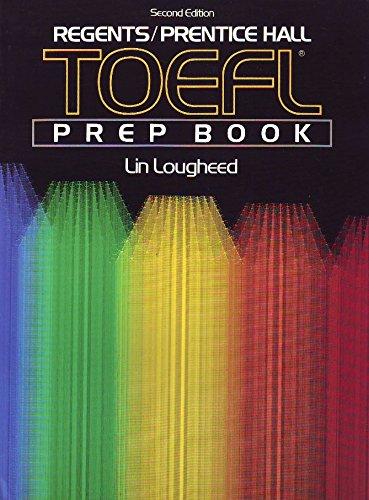 9780137140725: Regents Prentice Hall Toefl Prep Book: Book