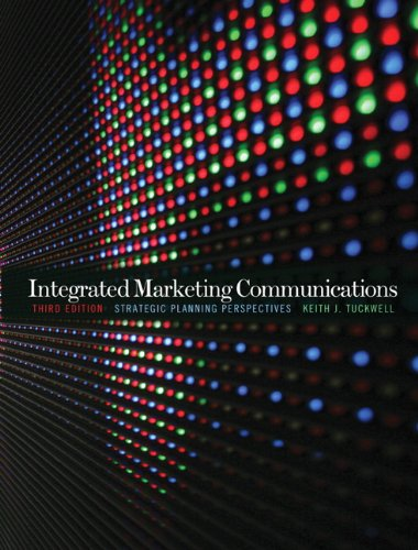 9780137140749: Integrated Marketing Communications: Strategic Planning Perspectives
