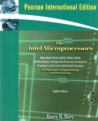 9780137140947: Intel Microprocessors, The:International Edition