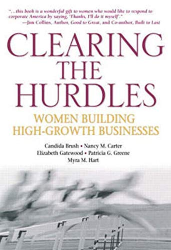 9780137141159: Clearing the Hurdles: Women Building High-Growth Businesses
