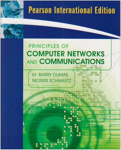 9780137142293: Principles of Computer Networks and Communications: International Edition