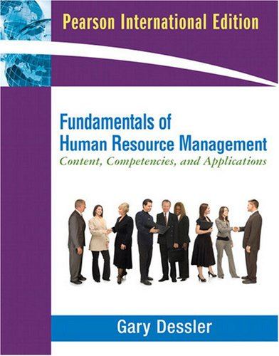 9780137142811: Fundamentals of Human Resource Management