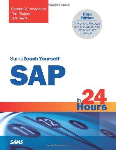 9780137142842: Sams Teach Yourself SAP in 24 Hours (3rd Edition)