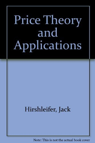 9780137142965: Price Theory and Applications