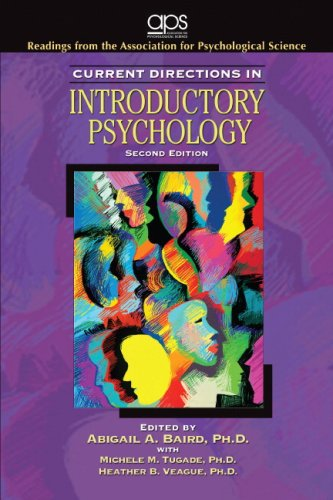 9780137143504: Current Directions in Introductory Psychology (2nd Edition)