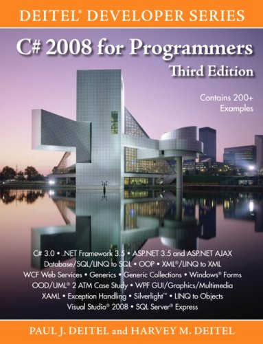 9780137144150: C# 2008 for Programmers (Deitel Developer)