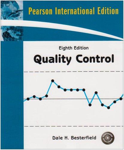 9780137144396: Quality Control