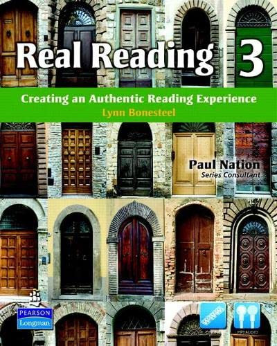 9780137144433: Real Reading 3: Creating an Authentic Reading Experience (mp3 files included)