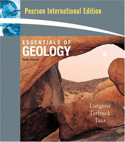 9780137147540: Essentials of Geology. Frederick Lutgens, Edward J. Tarbuck
