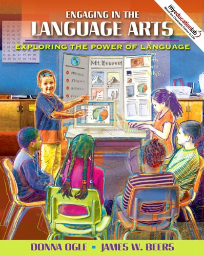 9780137147953: Engaging in the Language Arts: Exploring the Power of Language (with MyEducationLab)