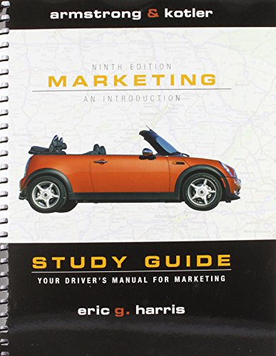 9780137148554: Study Guide and Flash Card Package for Marketing: An Introduction and MyMarketingLab Package
