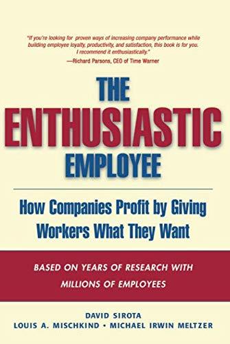 9780137148707: The Enthusiastic Employee