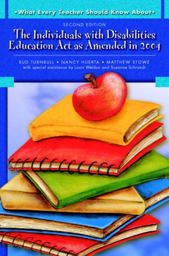 9780137149117: What Every Teacher Should Know About: The Individuals with Disabilities Education Act as Amended in 2004 (2nd Edition)