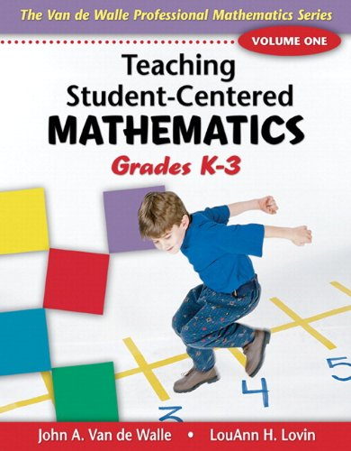 9780137149629: Teaching Student-Centered Mathematics, Volume I: Grades K-3 with eBook DVD