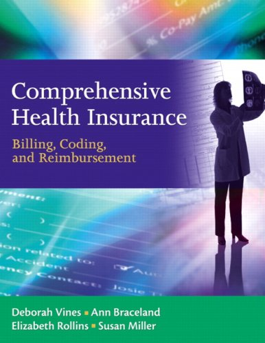 9780137151226: Comprehensive Health Insurance: Billing, Coding and Reimbursement Value Package (includes Blackboard, Student Access , Comprehensive Health Insurance)