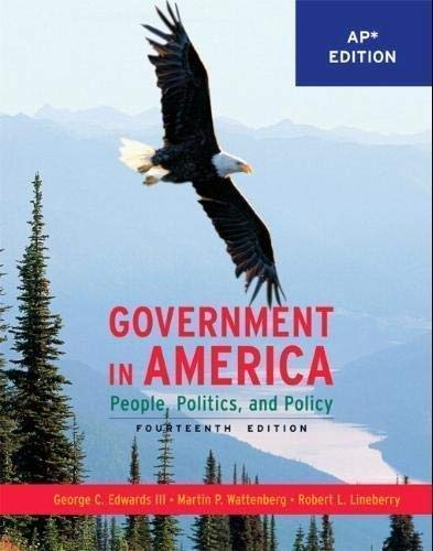 9780137151592: Government in America: People, Politics, and Policy (*AP Edition)