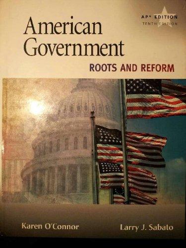American Government AP Edition: O'Connor, Karen