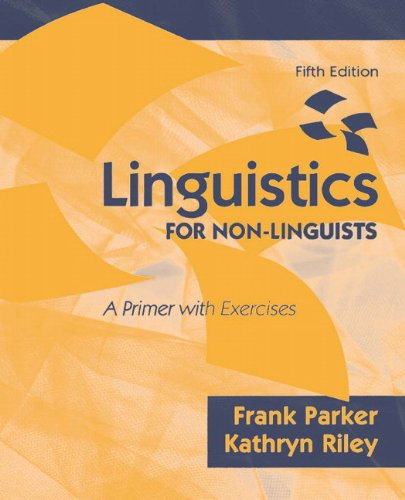 9780137152049: Linguistics for Non-Linguists: A Primer with Exercises