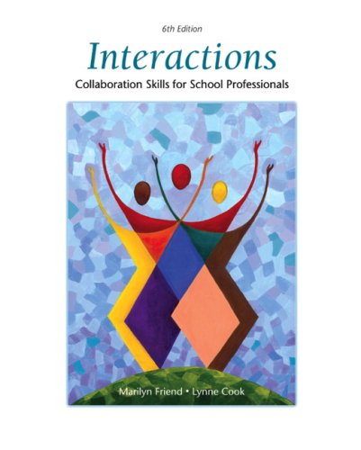 9780137152056: Interactions: Collaboration Skills for School Professionals (6th Edition)