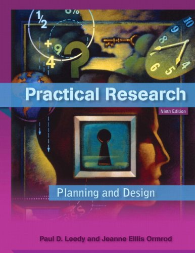 9780137152421: Practical Research: Planning and Design (9th Edition