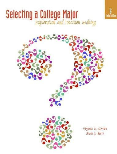 9780137152797: Selecting a College Major: Exploration and Decision Making