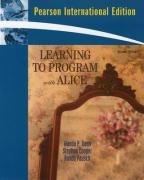 9780137154975: Learning to Program with Alice: International Version