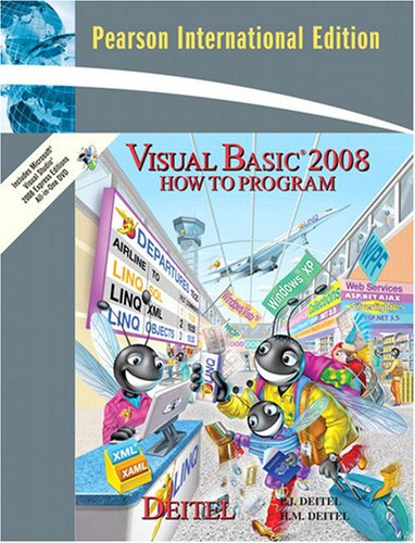 9780137155361: Visual Basic 2008 How to Program: International Version