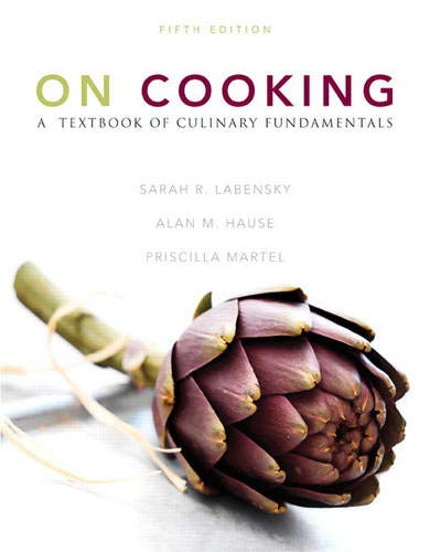 9780137155767: On Cooking: A Textbook of Culinary Fundamentals (5th Edition)
