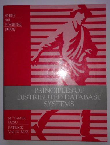 9780137156818: Principles of Distributed Databse Systems