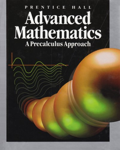 9780137157808: Prentice Hall Advanced Mathematics: A Precalculus Approach