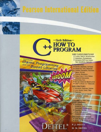 9780137158027: C++ How to Program: International Edition