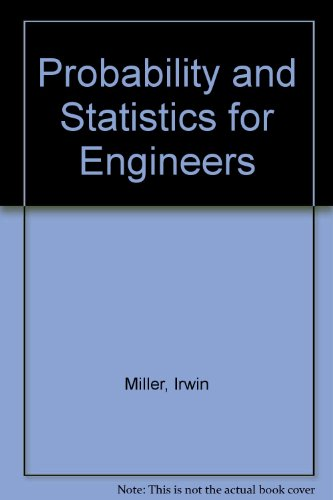 9780137159215: Probability and Statistics for Engineers