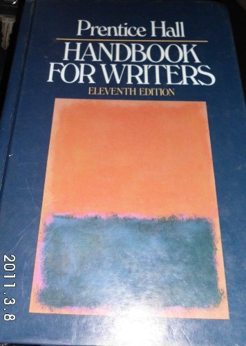9780137160938: Prentice Hall Handbook for Writers
