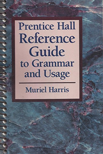9780137161270: Prentice Hall Reference Guide to Grammar and Usage