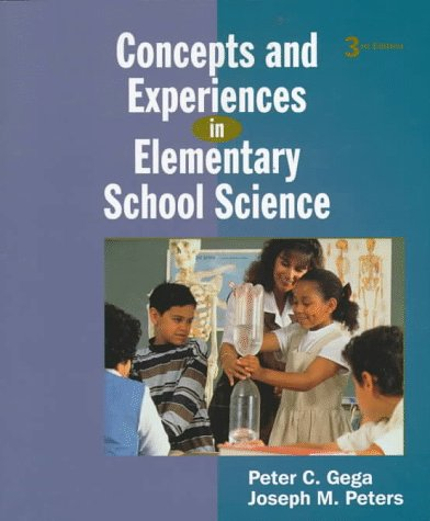 9780137164172: Concepts and Experiences in Elementary School Science