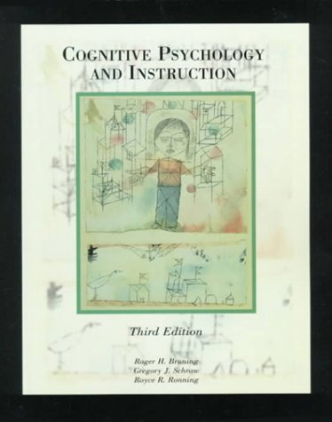 9780137166060: Cognitive Psychology and Instruction (3rd Edition)